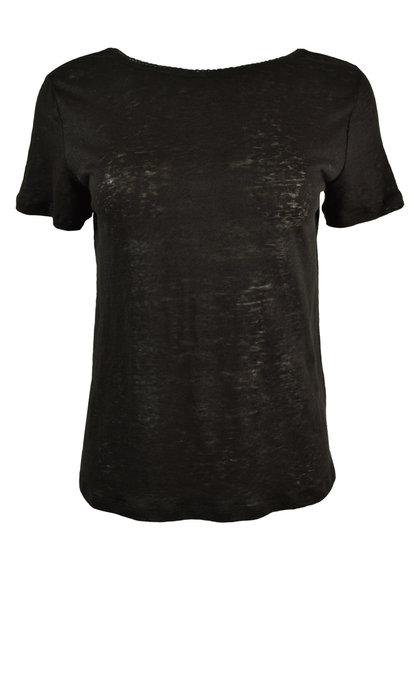 Marie Sixtine Quentin T-shirt Charbon