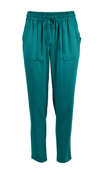 Another Label Abella Twill Pants Ocean Depths