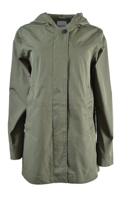 Elvine Athina Dark Sage Summer Coat
