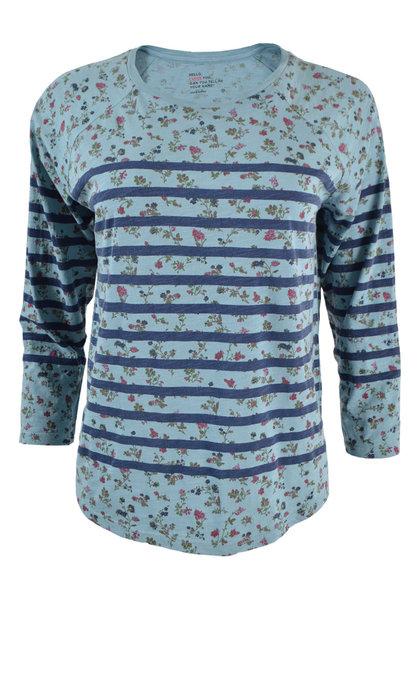Leon and Harper Tumtum T-shirt Jardin Sky