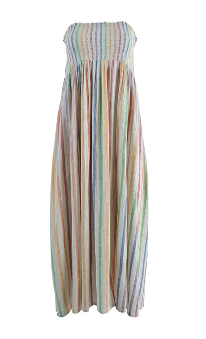 Leon and Harper Jojo Rainbow Sleeveless Long Dress / Skirt