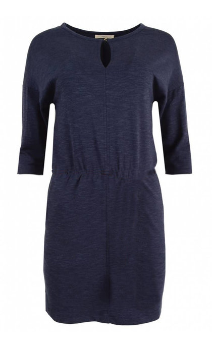 Sessun Degraw Dress Blue