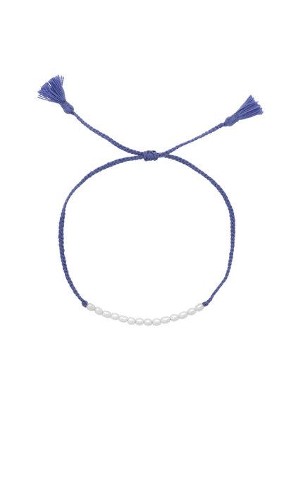 Anna + Nina Seed-Pearl Thread Bracelet