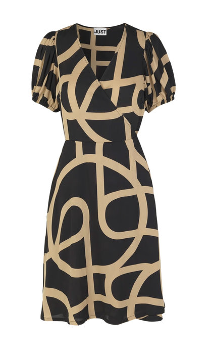 Just Female Leyla Wrap Dress Just A Sign