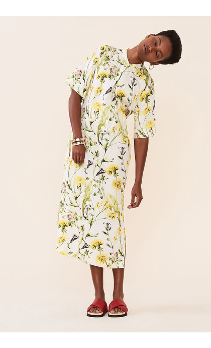 Elvine Agustie AOP Dress Meadow