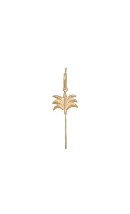 Anna + Nina Single Palm Tree earring