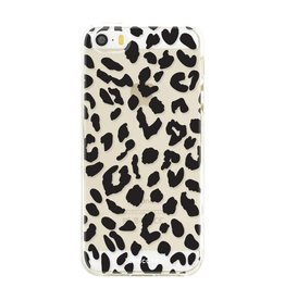 FOONCASE Iphone SE - Leopardo
