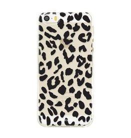 FOONCASE Iphone SE - Luipaard print
