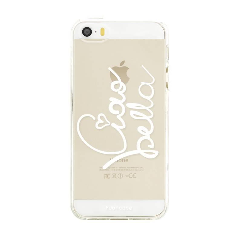 FOONCASE iPhone SE hoesje TPU Soft Case - Back Cover - Ciao Bella!