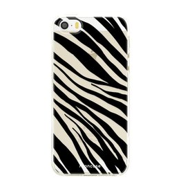 FOONCASE Iphone SE - Zebra
