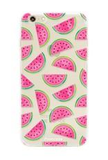 FOONCASE iPhone 6 Plus hoesje TPU Soft Case - Back Cover - Watermeloen