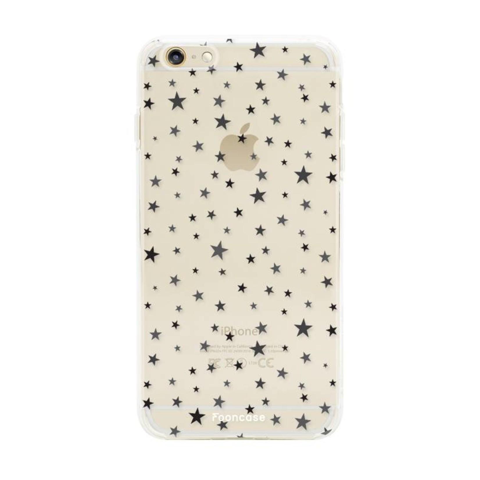 FOONCASE iPhone 6 / 6S hoesje TPU Soft Case - Back Cover - Stars / Sterretjes