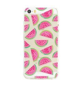 Apple Iphone 5 / 5S - Watermeloen
