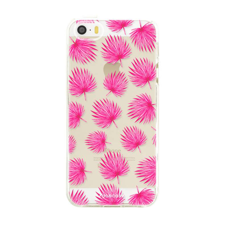 FOONCASE Iphone 5 / 5S Case - Pink leaves
