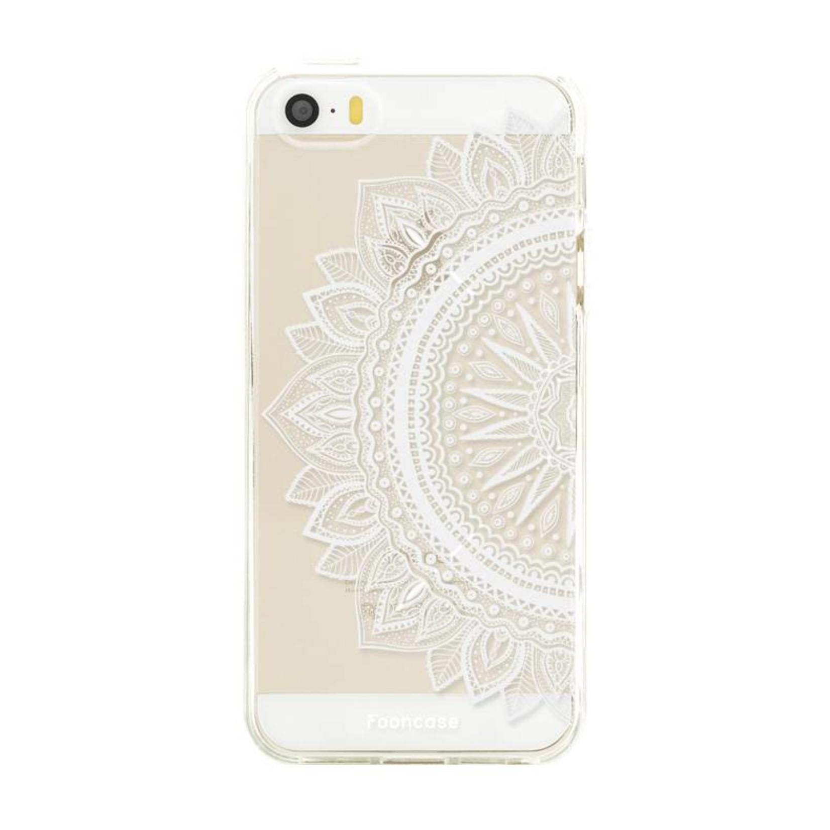 FOONCASE iPhone 5 / 5S hoesje TPU Soft Case - Back Cover - Mandala / Ibiza