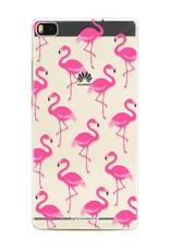 Huawei Huawei P8 Handyhülle - Flamingo