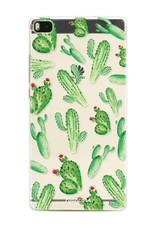 FOONCASE Huawei P8 Handyhülle - Kaktus