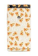 FOONCASE Huawei P8 Handyhülle - Pizza