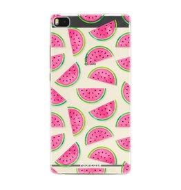 FOONCASE Huawei P8 - Watermeloen