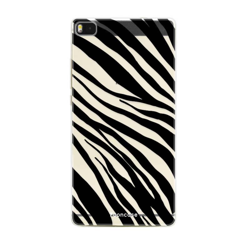 FOONCASE Huawei P8 hoesje TPU Soft Case - Back Cover - Zebra print