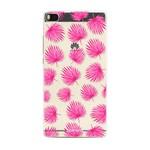 FOONCASE Huawei P8 - Pink leaves