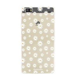 FOONCASE Huawei P8 Lite - Daisies