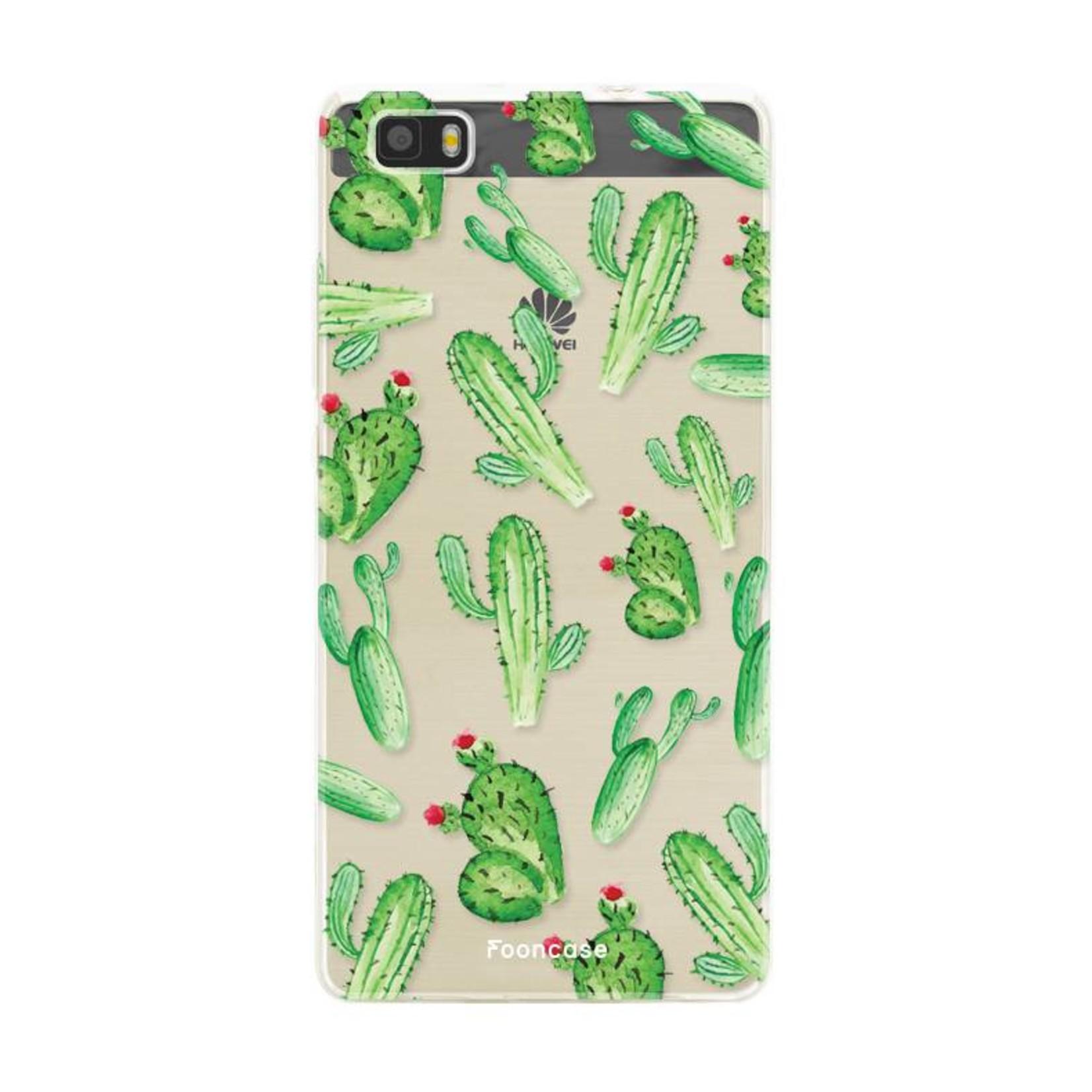 FOONCASE Huawei P8 Lite 2016 Handyhülle - Kaktus