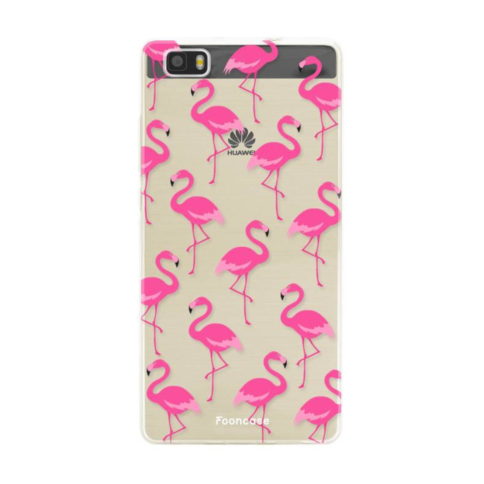 FOONCASE Huawei P8 Lite 2016 Handyhülle - Flamingo