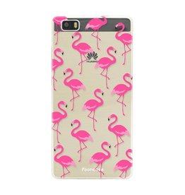 FOONCASE Huawei P8 Lite - Flamingo