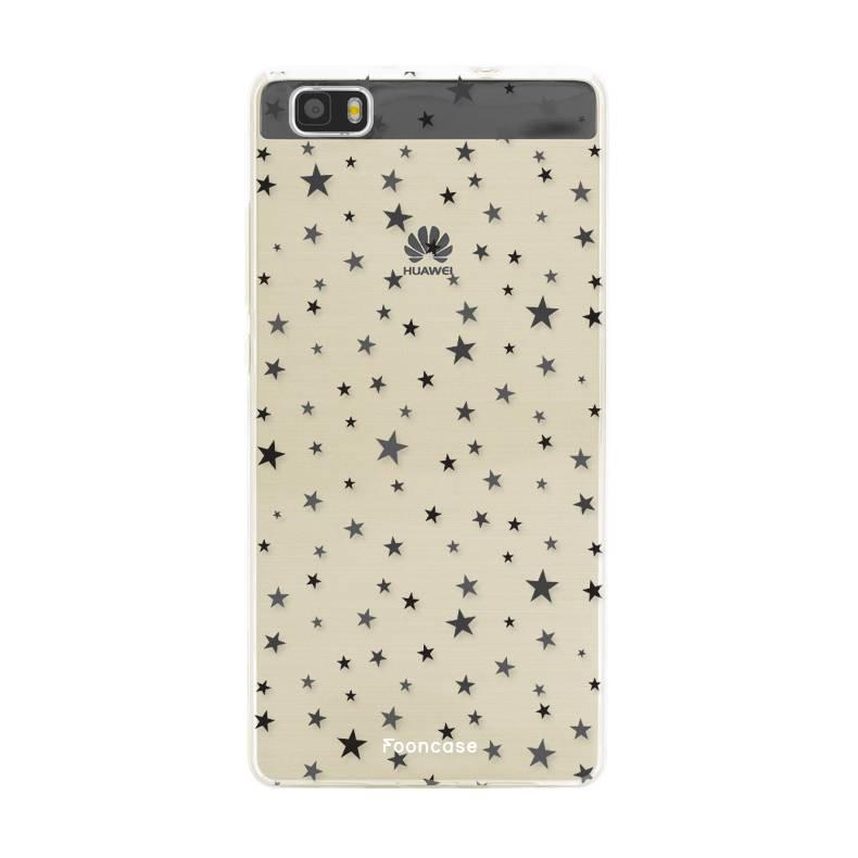 FOONCASE Huawei P8 Lite 2016 hoesje TPU Soft Case - Back Cover - Stars / Sterretjes