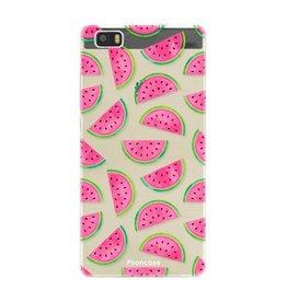 FOONCASE Huawei P8 Lite 2016 - Watermeloen