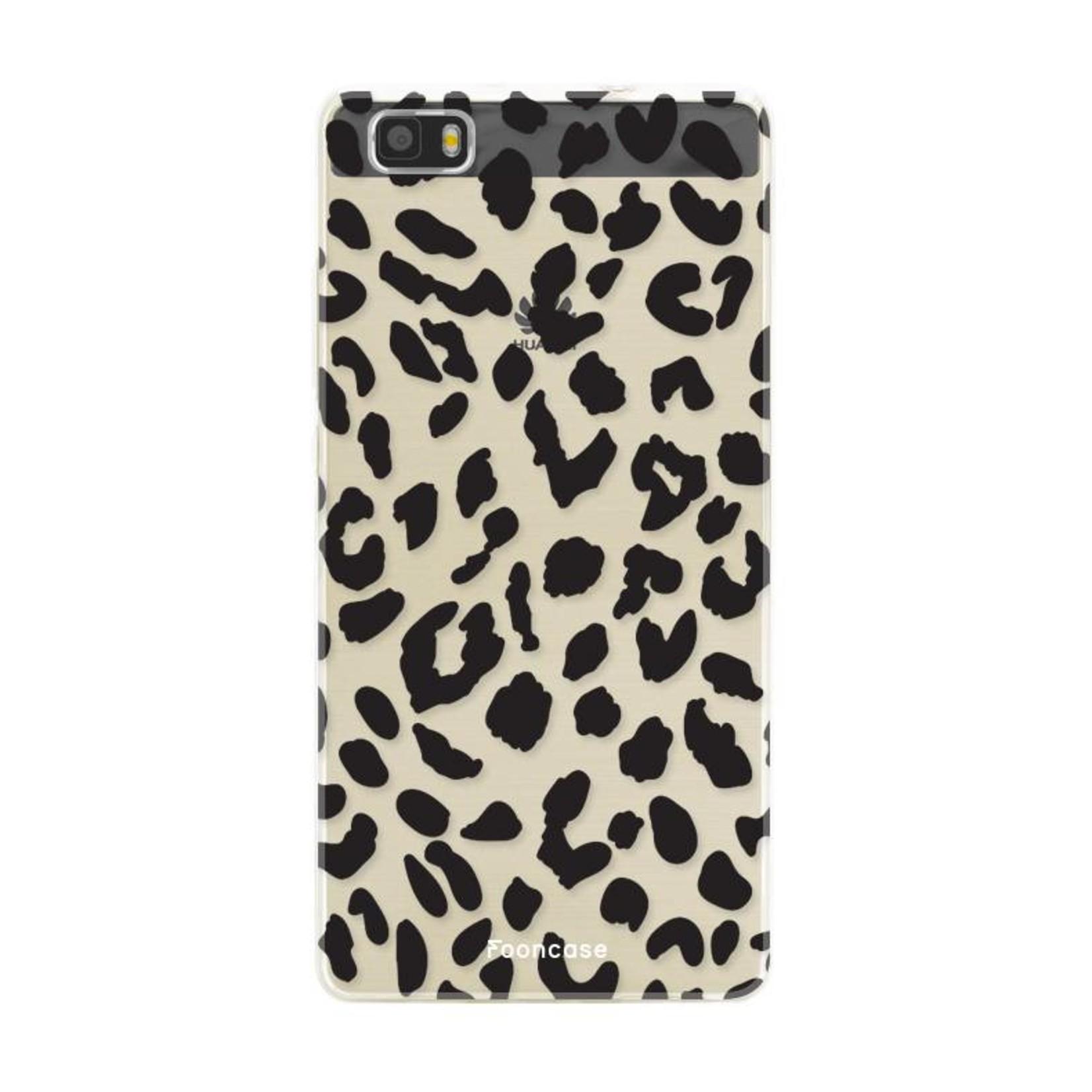 FOONCASE Huawei P8 Lite 2016 Handyhülle - Leopard