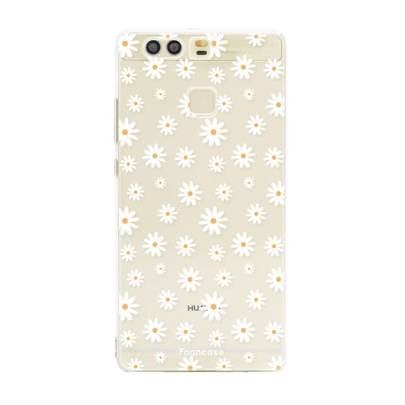 FOONCASE Huawei P9 Handyhülle - Gänseblümchen