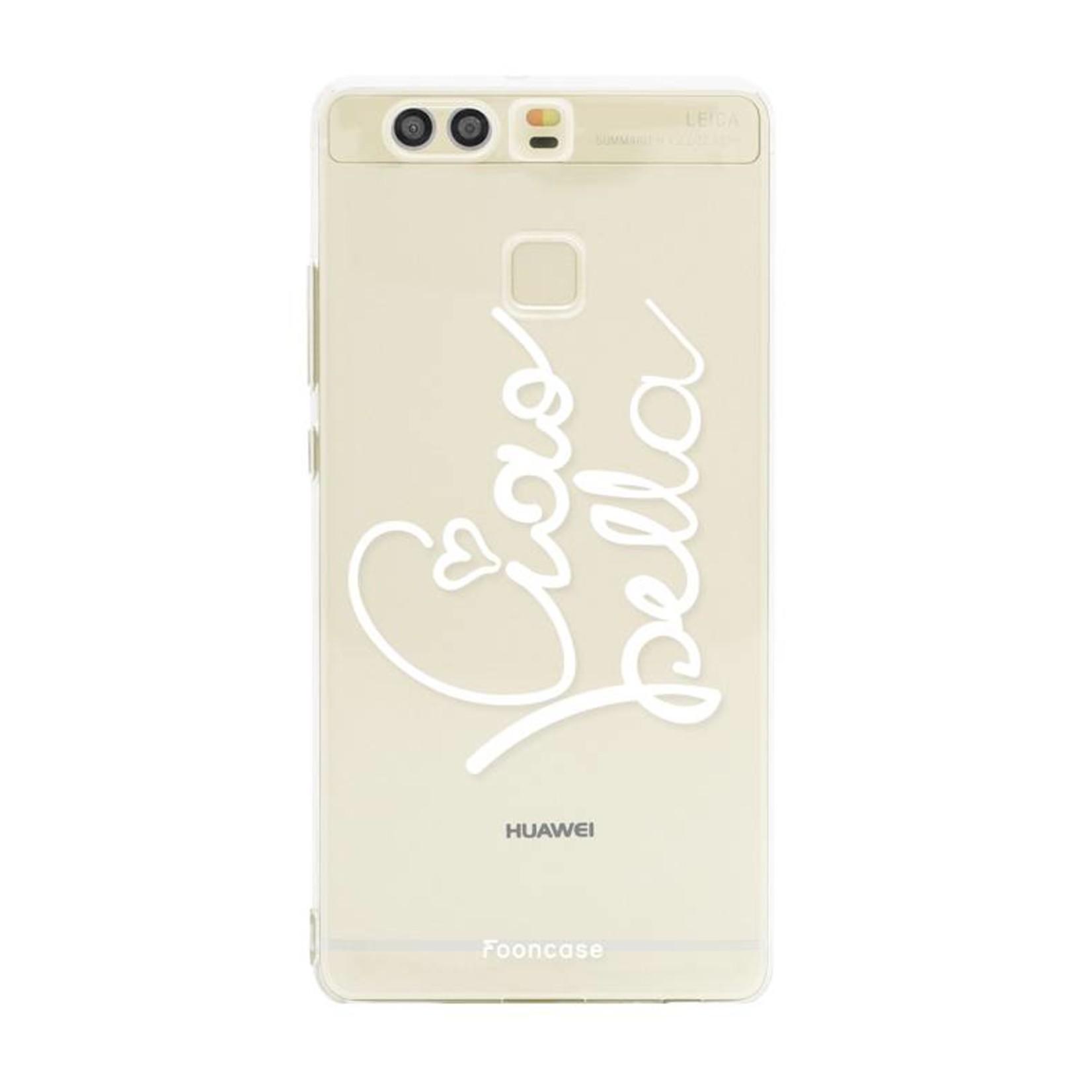 FOONCASE Huawei P9 hoesje TPU Soft Case - Back Cover - Ciao Bella!