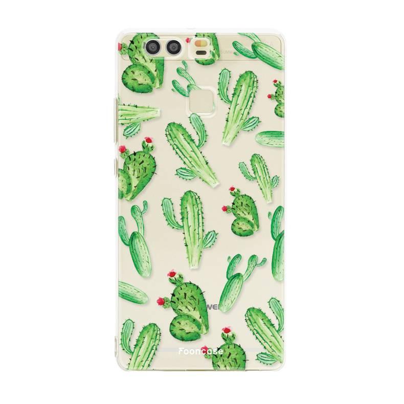 FOONCASE Huawei P9 Handyhülle - Kaktus
