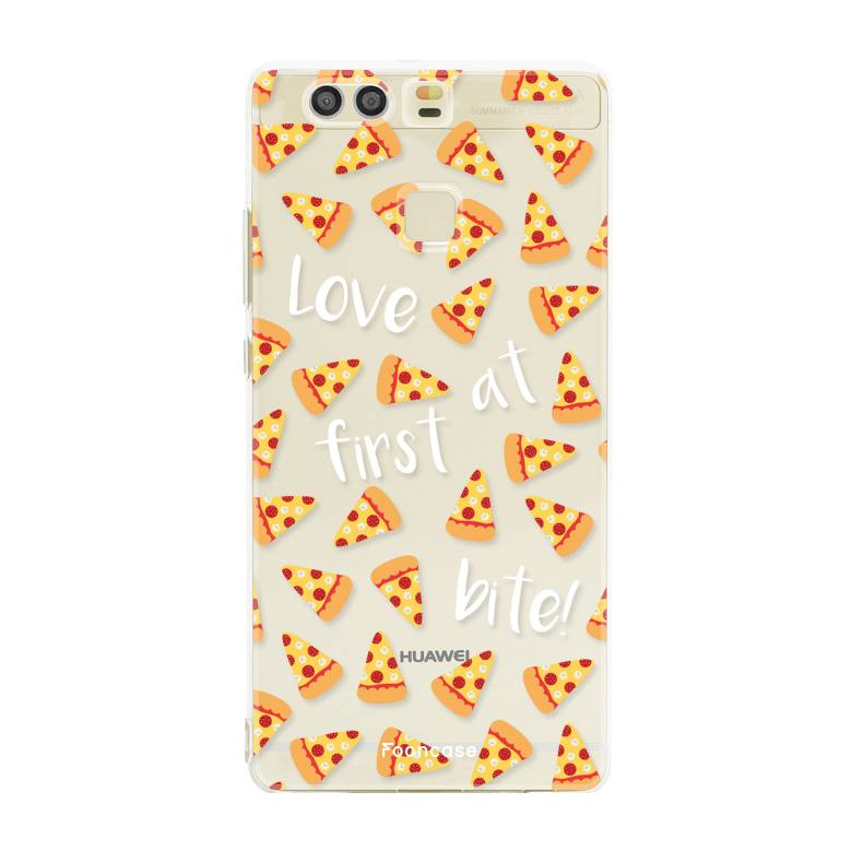 FOONCASE Huawei P9 hoesje TPU Soft Case - Back Cover - Pizza / Food