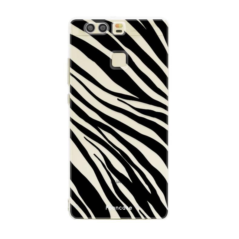 FOONCASE Huawei P9 Handyhülle - Zebra