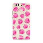 FOONCASE Huawei P9 - Pink leaves
