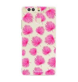 Huawei Huawei P9 - Pink leaves