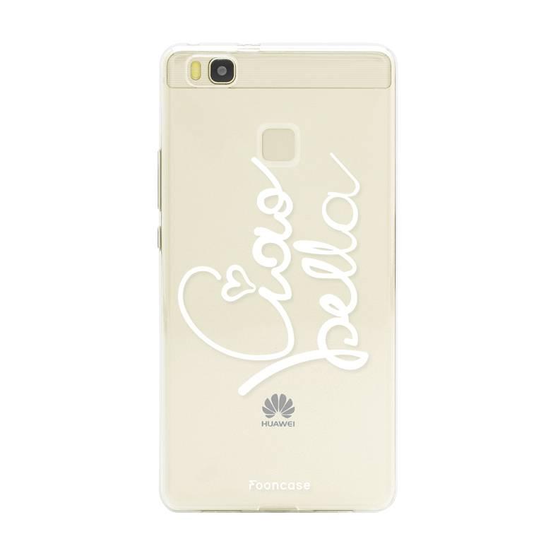 FOONCASE Huawei P9 Lite hoesje TPU Soft Case - Back Cover - Ciao Bella!