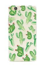 FOONCASE Huawei P9 Lite Handyhülle - Kaktus