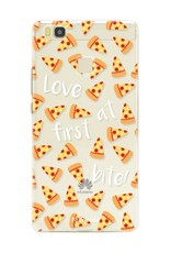 FOONCASE Huawei P9 Lite hoesje TPU Soft Case - Back Cover - Pizza / Food