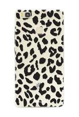 FOONCASE Huawei P9 Lite hoesje TPU Soft Case - Back Cover - Luipaard / Leopard print