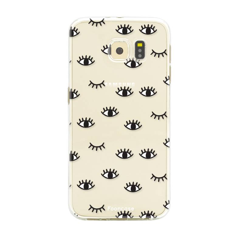 FOONCASE Samsung Galaxy S6 Handyhülle - Eyes