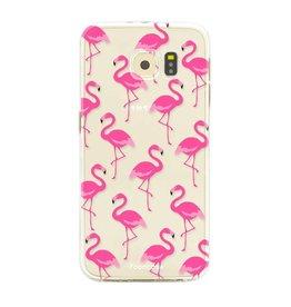 FOONCASE Samsung Galaxy S6 - Fenicottero