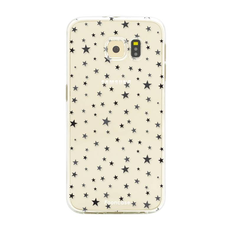 FOONCASE Samsung Galaxy S6 hoesje TPU Soft Case - Back Cover - Stars / Sterretjes