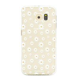 FOONCASE Samsung Galaxy S6 Edge - Daisies