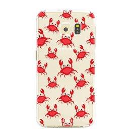 FOONCASE Samsung Galaxy S6 Edge - Crabs