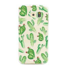 FOONCASE Samsung Galaxy S6 Edge - Kaktus