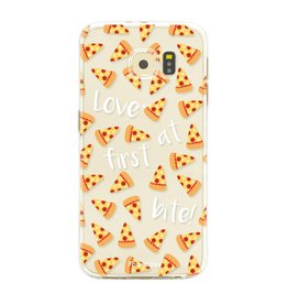FOONCASE Samsung Galaxy S6 Edge - Pizza